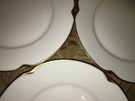 3 J&C LOUISE Bavaria white gold daub trim antiq... - $34.20