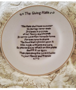 The Giving Sharing Plate Handmade  - $8.00