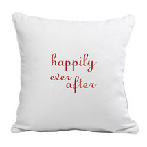 Happily Ever After Throw Pillow - $49.00