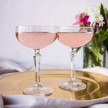 8.25 oz. Mother Daughter Champagne Coupe Toasting Flutes - $43.00
