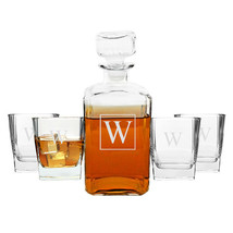 Personalized 5pc. Decanter Set - $77.00