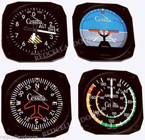 "Trintec 10/"" Classic Altitude Altimeter Aviation Instrument Clock 3060-10 NEW"