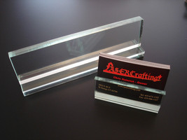 DESK NAME PLATE sold blank/wholesale to engravers-(engraved option) +car... - $6.95+