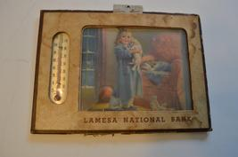 Advertising Thermometer LAMESA NATIONAL BANK - $5.99