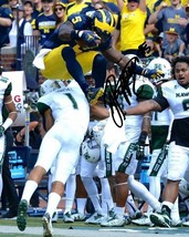 Jabrill Peppers Signed Photo 8X10 Rp Autographed Michigan Wolverines Leap ! - $19.99