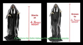 LIFE SIZE Animated Talking-RISING BOG REAPER DEMON-Haunted House Prop De... - $227.67