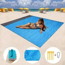 Waterproof Beach Polyester Blanket Outdoor Portable Picnic  Summer Campi... - $19.99