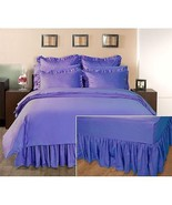 Home Decorators Collection Ruffled Bed Skirt, Queen - £29.53 GBP