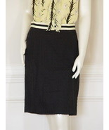 MILLY LILY BASKET WEAVE SKIRT - US 10 - UK 14 - $120.77