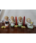 Goebel Angel Figurines, Candleholders, Set of 5 - $50.00