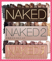 Urban Decay N Aked Palette 1 & 2 & 3 - Fast Free Delivery - $44.99