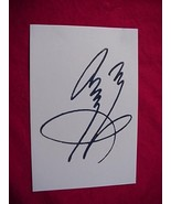 JIMMY PAGE  Autographed Signed Signature Cut w/COA - 30702 - $75.00