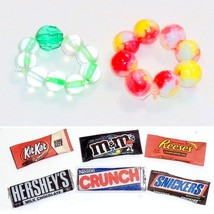 2 FREE w/Doll Purchase: Bracelets OR Mini Candy Bars for your Wonderland... - $0.00