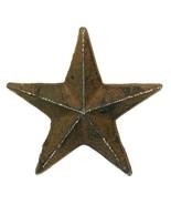 CAST IRON Medium Nail Star Set of 12 Western Wall Decor - $22.76