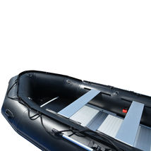 BRIS 15.4 ft Inflatable PVC Boat Inflatable Rescue Fishing Pontoon Boat Dinghy image 9