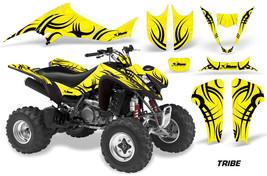 ATV Graphics Kit Decal for Suzuki LT-Z400 Quadsport 2003-2008 Tribal Black Y - $169.95