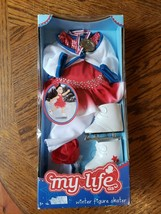 """My Life As Doll Winter Figure Skater Outfit Olympics 18"""" Accessories NO DOLL - $24.75"""