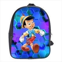 School bag pinocchio boy bookbag backpack 3 sizes - $38.00+