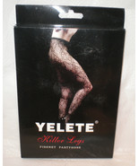Yelete Killer Legs Nylon Blend Black Seamless F... - $12.99