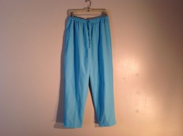 Great Used Condition Appleseed's M Sky Blue Stretchy Comfortable Pants  - $29.69