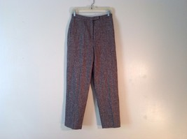 Great Used Condition Charter Club Petite Brown Tweed Pants Size 8P
