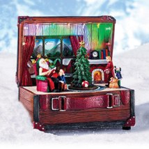 Avon Visit with Santa Claus Scene - $28.99