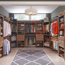 Stylish ClosetMaid Impressions 25 in.  Walnut W... - $84.59