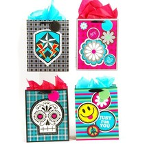 7 1/2W x 9H x 4G Medium Bff Matte Gift Bag With Wagging Head, 4 Designs,... - $211.76