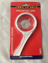 "ELEMENTS White Rim & Handle 3"" Reading Glass Ma... - $7.34"