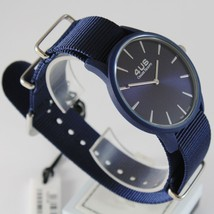 CESARE PACIOTTI 4US WATCH QUARTZ MIYOTA MOVEMENT 40 MM CASE, BLUE FABRIC BAND image 2