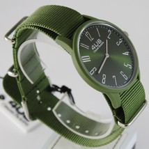 CESARE PACIOTTI 4US WATCH QUARTZ MIYOTA MOVEMENT 40 MM CASE, GREEN FABRIC BAND image 2
