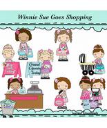 Winnie Sue Goes Shopping Clip Art - $1.35