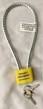 "Project Childsafe 7"" Cable Lock - $7.07"