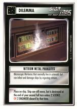 Star Trek CCG - Nitrium Metal Parasites - $0.69