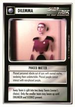 Star Trek CCG - Phased Matter - $0.69