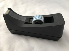 "Sleek Black 3X6.5"" Scotch Tape Dispenser - $8.78"
