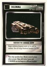 Star Trek CCG - Radioactive Garbage Scow - $0.69