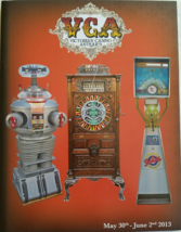 VCA Victorian Casino Antiques May 30 - June 2 2013 catalog - $19.50
