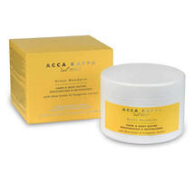Hand & Body Butter by Acca Kappa 8.25 fl. oz., 244 ml Shea Butter Made in Italy - $64.99
