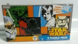 Disney Star Wars 100 Piece 4 Puzzle Pack  - $6.50