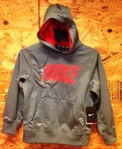 Boy's Nike THERMA-FIT Swoosh Pullover Hoodie #546159-477 / Size Small - $23.36