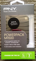 PNY M1500 1500mAh 1 Amp PowerPack - Portable Rechargeable Battery Charger - €6,67 EUR