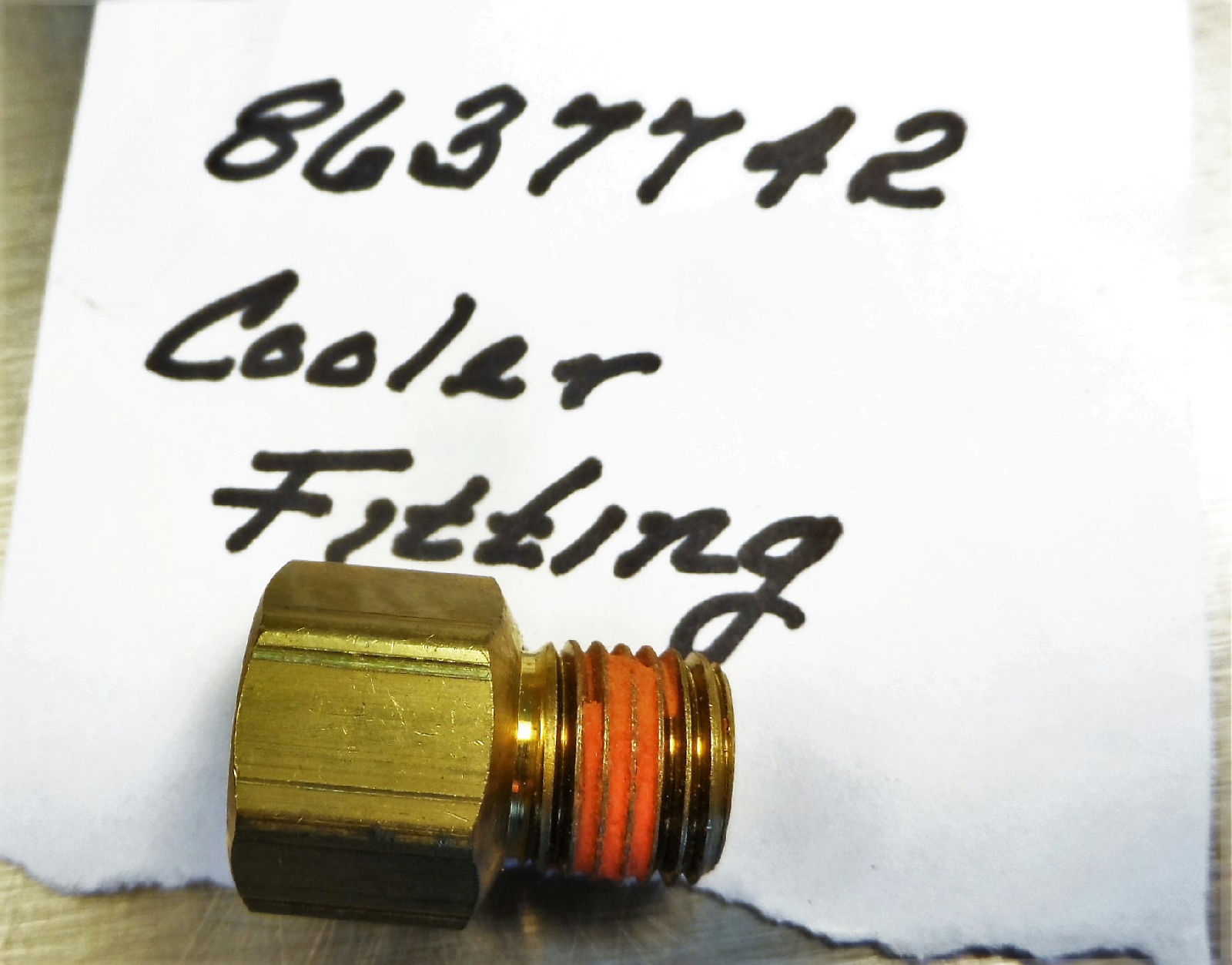 GM ACDelco Original 8637742 Cooler Fitting General Motors New image 2
