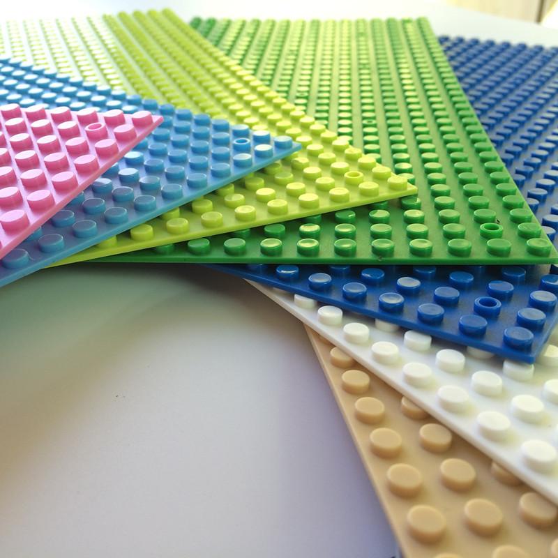 1pcs Small Blocks Base Plate building blocks colour many