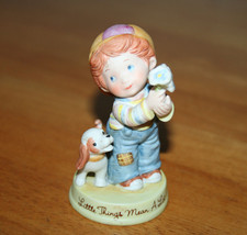Little Things Mean a Lot Porcelain Figurine of ... - $8.99