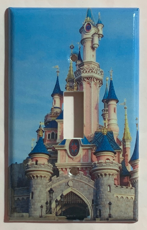 Paris disney castle single toggle