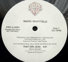 Mark Whitfield - That Girl - Warner Brothers PRO-A-6591 - PROMO  - $4.00
