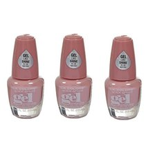 L.A. Colors Extreme Shine Gel Nail Polish CNP703 Mademoiselle 3 pcs - $16.47