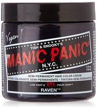 Manic Panic - Raven Cream Hair Color 4 fl. oz - $10.50