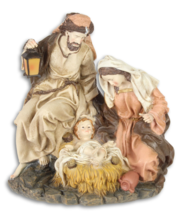 Mary Joseph bend over  newly born Jesus Child Christmas decor *Free Air ... - $99.00